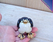 Penguin, Stoneware Clay Penguin, Penguin Gifts