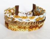 Gold - Braided Friendship Bracelet