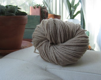 Naturally Dyed Antique Rose Wool Yarn