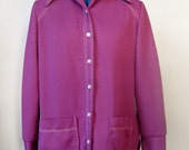Purple Shirt / Vtg 70s / ...