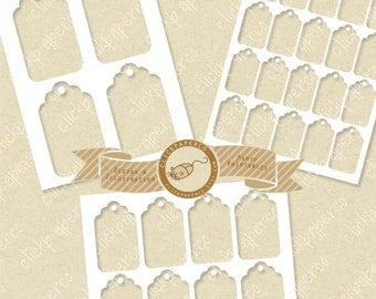 Gift Hang Tag Template SALE Multi Size Value Pack For Collage Sheets Printable Kits Small Business Instant Download commercial use ok png