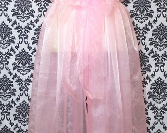 Peignoir Sheer Robe Dressing Gown CUSTOM Made To Order