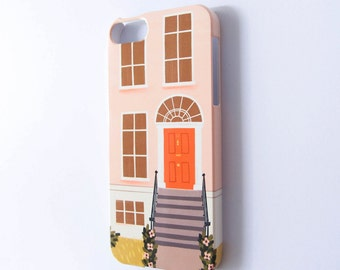 Town House iPhone Slim Case - iPhone Case - iPhone 5 Case -  i Phone 5s Case