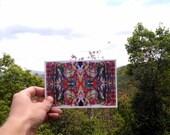 P2 - Fractal Art Postcard