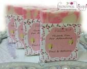 Bridal Shower SOAP Favors | Wedding SOAP  Favors | Baby Shower SOAP Favors |  Guest size soap  (50) | barn wedding favors | Soap favors