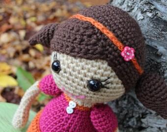 Items similar to Custom Crochet Doll on Etsy