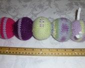 Hand Knit Caterpillar - Soft Toy - Bug - Baby Shower
