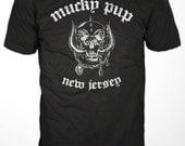 Mucky Pup Tshirt - Motorhead Logo