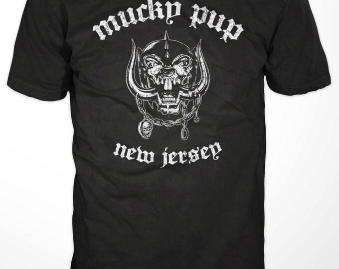"Mucky Pup Tshirt - ""Motorhead"" Logo"