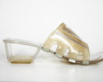 80s AvantGarde Sandal (us8)
