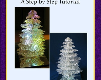 Fused Glass Tree, PDF E-Pattern, Tutorial