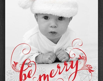 Photo Christmas Holiday Card - Printable Digital File