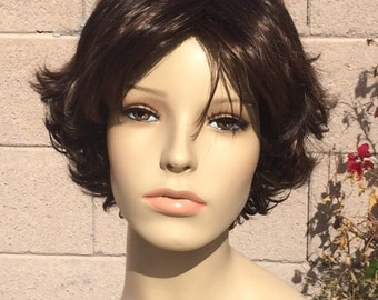 Couture Rapunzel Tangled Short Brown Wig