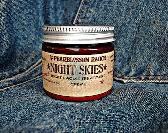 NIGHT SKIES organic night treatment face creme