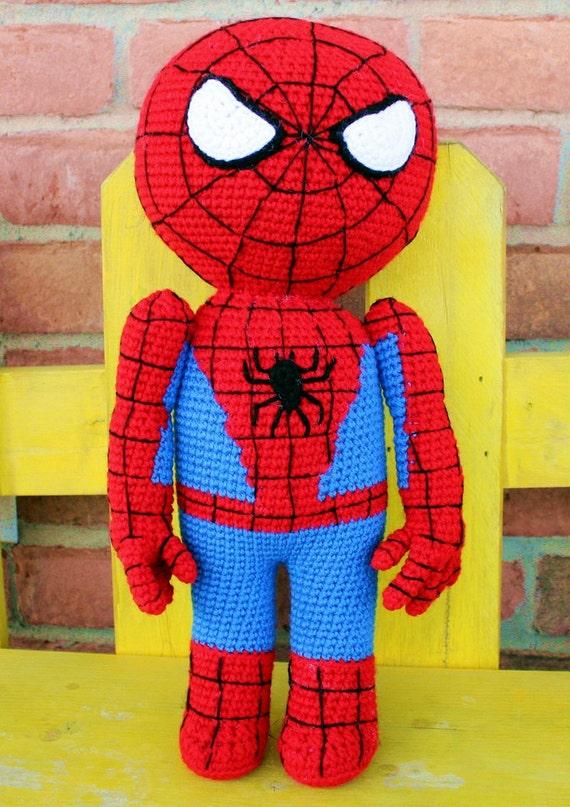 Free Amigurumi Spiderman Pattern : Unavailable Listing on Etsy