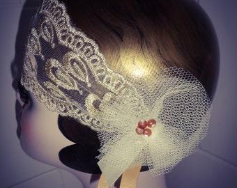 Great gatsby charleston flapper 1920s theme headband headdress costume bridesmaid wedding, roaring 20s SALE