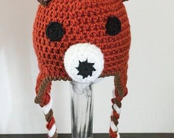 Fox Hat - Fox - Earflap - Hat