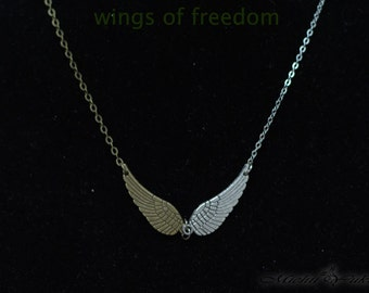 Attack on Titan inspired Wings of Freedom Necklace - Version B