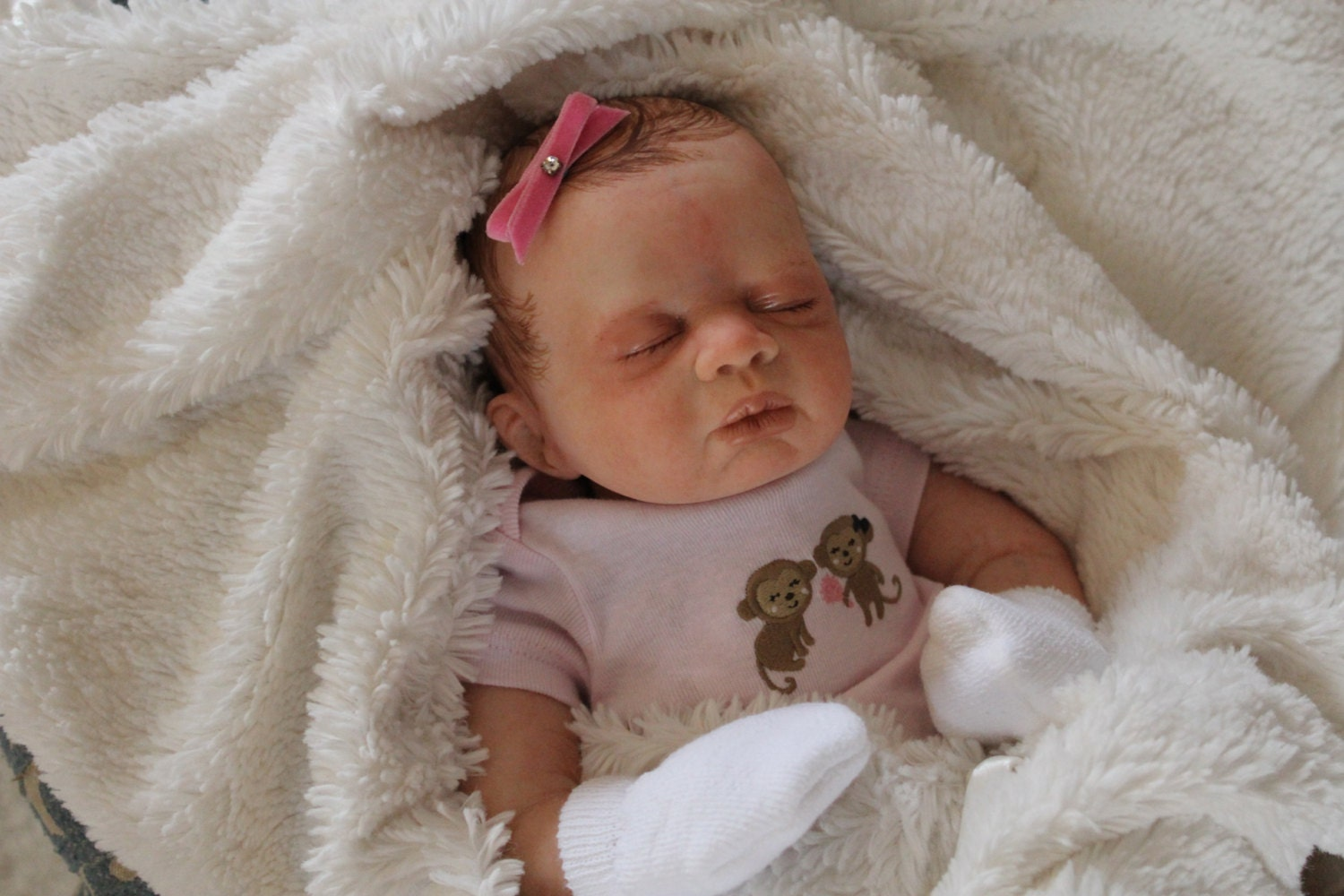 Reborn Newborn Baby Girl Small Baby Doll by TheBabyLoveNursery