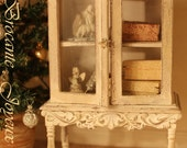 ON REQUEST, French cabinet, Dollhouse miniatures, scale 1:12