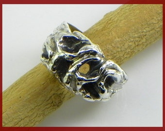 Sculpture Ring in Sterling silver 925