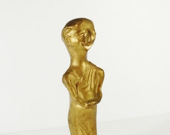 Vintage Theater Award Statuette - Community Theater Drama Acting Award Faux Oscar Roman