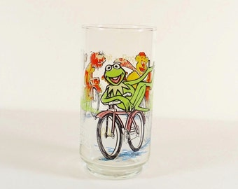 Kermit the Frog - The Great Muppet Caper 1981 Glass Tumbler