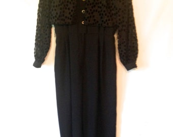 vintage black jumpsuit 1980s black sparkle jumpsuit vintage medium large jumpsuit romper 1980s tuxedo jumpsuit with jacket