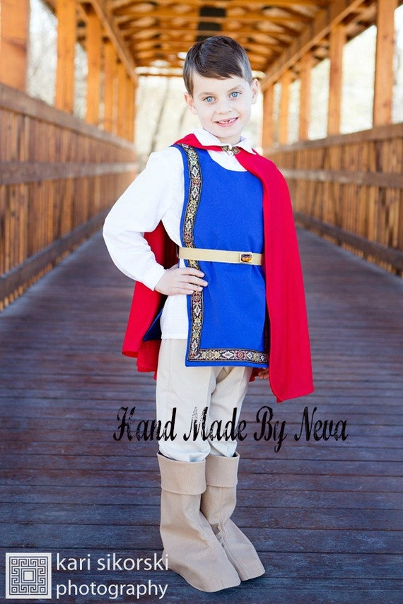 Snow White Prince Costume for Boy Youth Child. Toddler