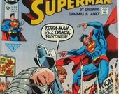 DC Superman Comics Number 52 February 1991 with Terra Man