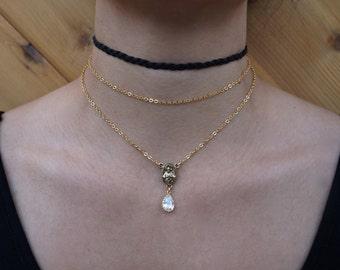 The 2 Chain Rosary Choker