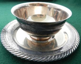 Silverplate Vintage SauceBowl
