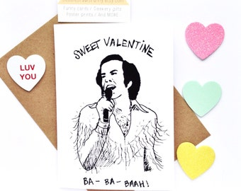 Sweet Valentine, Funny Valentine Card, Funny card for valentines day, boyfriend valentine card, girlfriend valentine card