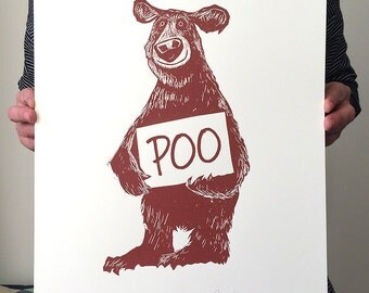 BEAR Screenprint SALE!