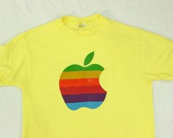 80's Apple Computer Macintosh T-Shirt XL