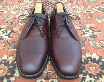 Vintage Men's Easy Flex Brown Dress Shoes Size 8 1/2 D