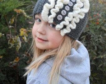 Ruffle Earwarmer--Child/Toddler