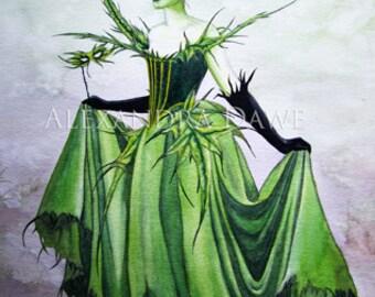 Fine Art Giclee Print- 'Thistle'