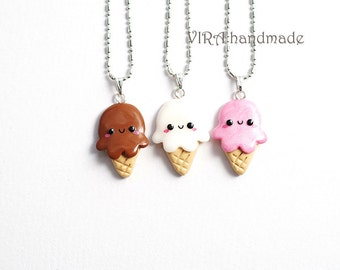 ONE Kawaii Ice Cream Necklace