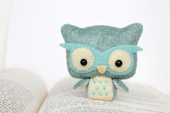 Stuffed Felt Owl Pattern