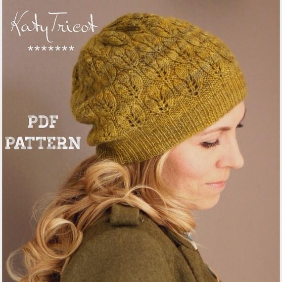 Crocus Hat Knitting Pattern Sizes: Toddler through by KatyTricot