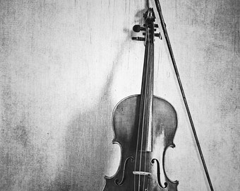 SALE: Violin Fine Art Photography Musical Instrument Music Fiddle Photo Print Classical Music Room Decor Music Lover Fiddler Gift Idea