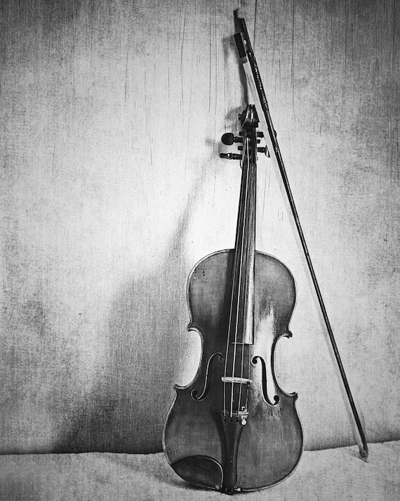 Still Life: Violin Fine Art Photography Musical Instrument