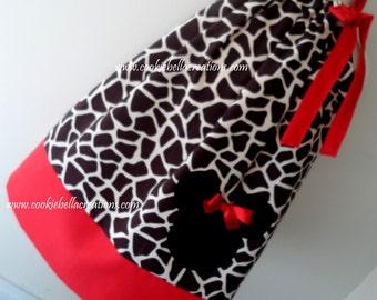 Minnie Mouse Giraffe Print Safari Pillowcase Dress