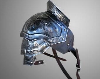 Steel Damaged Armor Pauldron Gladiator