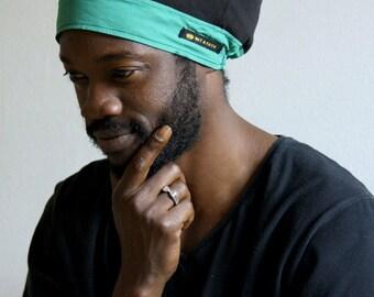MARKUS Colorblock Tam, RBG Summer Rasta Crown, Hat for dreadlocks, Men or Women