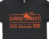The Boars Nest T SHIRT Vintage Soft Dukes Bar of Hazzard Shirts Hazard Roscoe Cool Beer Graphic Tee