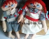 Ann and Andy Style Barefoot Summer Doll Pair