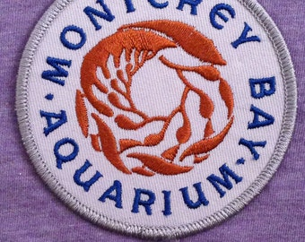 Monterey Bay Aquarium Souvenir Travel Patch
