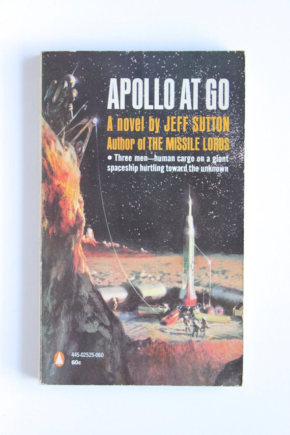 Book Cover Art Etsy ~ Items similar to apollo at go by jeff sutton s